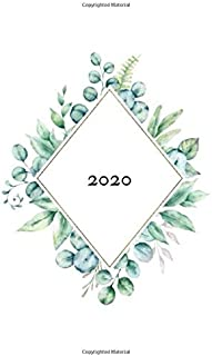 2020: journal planner weekly and monthly planner for 2020 I weekly to do list I pocket calendars I