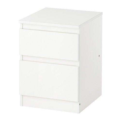 Ikea Kullen Schubladen-Kommode, 2 Schubladen, Weiß
