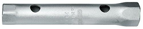 GEDORE 26 R Doppelsteckschlüssel, Hohlschaft, 6-kant 22x24 mm, 1 Stück, 6212420