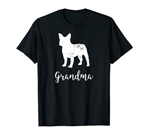 French Bulldog Grandma Meaning For Grandmother Vintage T-Shirt