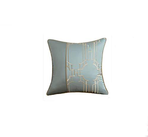 Coussin texture oreiller salon canapé coussin noyau lit arrière oreiller oreiller lombaire 2 pack 45 * 45 cm (Couleur : D)