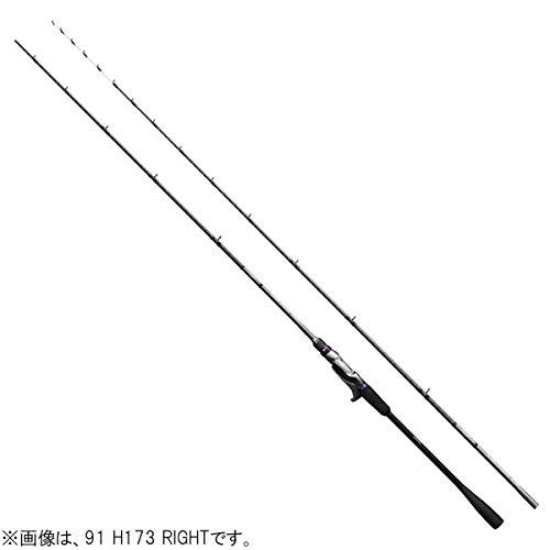 シマノ(SHIMANO) 船竿 ロッド サーベルマスター Xチューン テンヤ 91 H173/L タチウオ 掛け調子のセンターアイテム