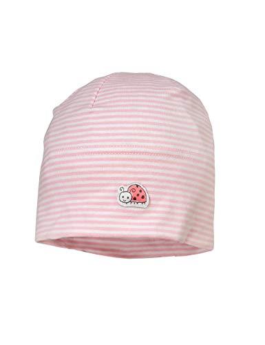 maximo Baby-Mädchen Jerseymütze Mütze, Mehrfarbig (Mandelblüte 23), (Herstellergröße: 41/43)