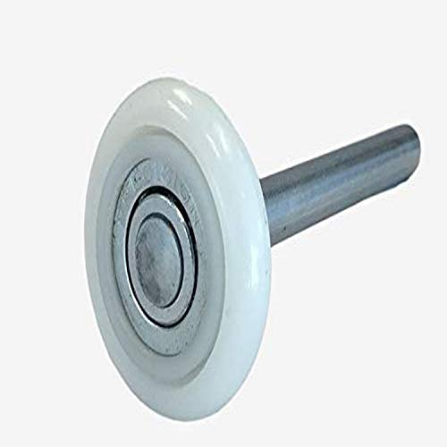 13 Ball Nylon Garage Door Rollers (4 Inch Stem) Sealed Bearing (10 Pack)