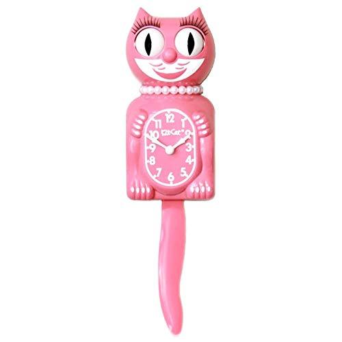 Horloge animée kit Cat Klock LADY-Chat Rose - Tempus Républic (Rose)