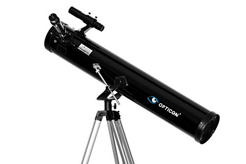 OPTICON Discovery 114F900AZ, telescopio riflettore,...