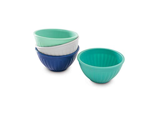 Nordic Ware Prep & Serve Mini Bowl Set, 4-pc, Set of 4, Coastal Colors