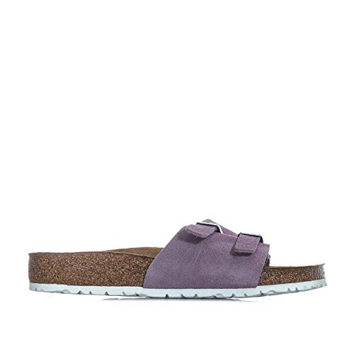 BIRKENSTOCK Damen Vaduz Soft Footbed Sandalen Pantoletten -Lila