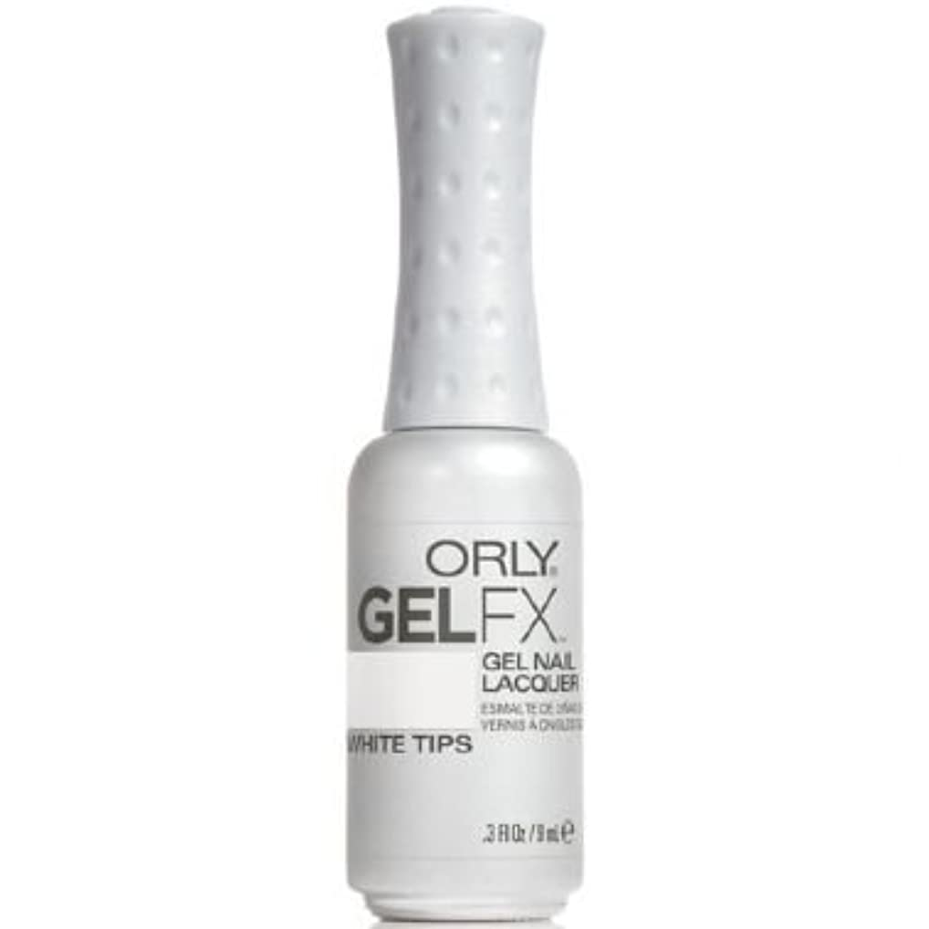 実験室小人レーザOrly Gel FX Gel UV Vernis à Ongles/ Gel Polish - White Tips 9ml
