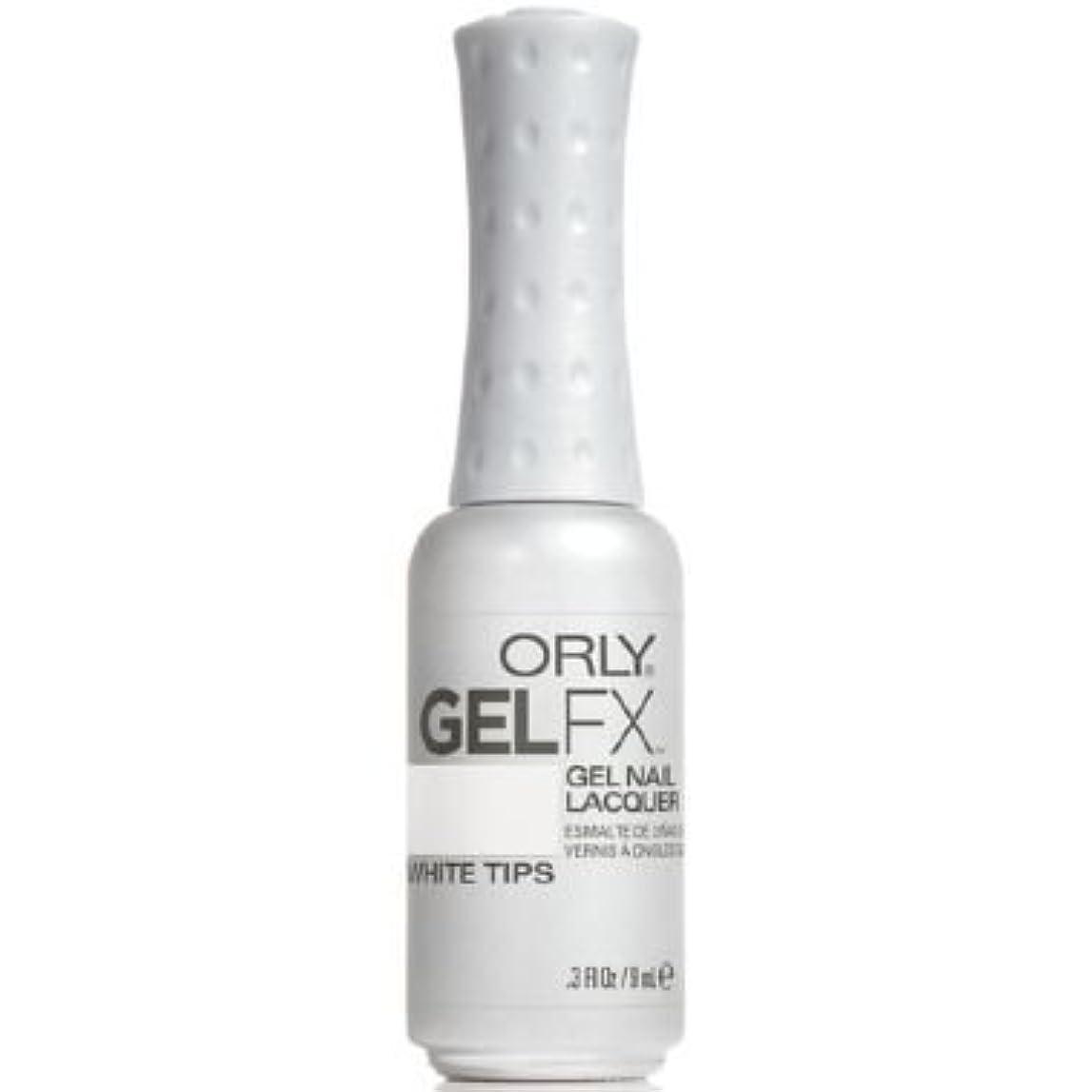 チーフ発症秘書Orly Gel FX Gel UV Vernis à Ongles/ Gel Polish - White Tips 9ml
