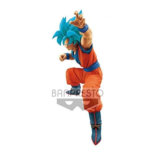 Action Figure Goku Blue Big Size Figure Banpresto Multicores