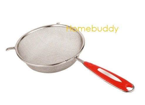 Elephant Stainless Steel Soup and Juice Strainer, 14cm (Silver)