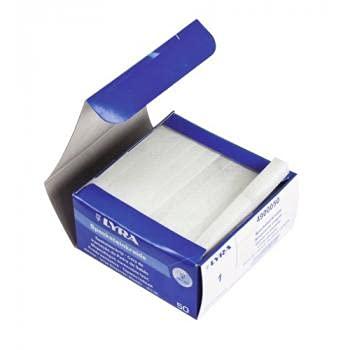 Craie de briancon coloris blanc boîte de 50 pièces - LYRA
