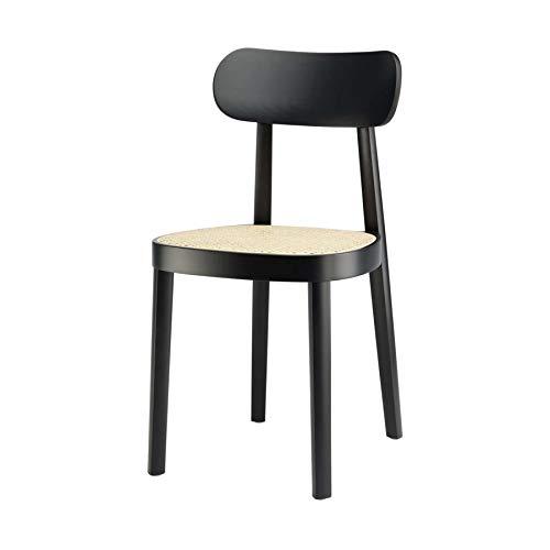Thonet 118 Stuhl mit Wiener Geflecht - schwarz
