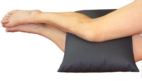 CORA orthopädisches Kniekissen für die Seitlage   mit PU-beschichteter safetex Oberfläche