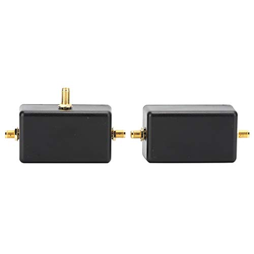 Antena magnética, Bucle magnético pasivo portátil con Banda Ancha de Baja pérdida/Tipo de pérdida de 0,28 dB/inversor/Rendimiento Estable para HF/VHF