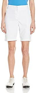 PGA TOUR Women's 19 Comfort Stretch Solid Woven Short Bright White 6 [並行輸入品]