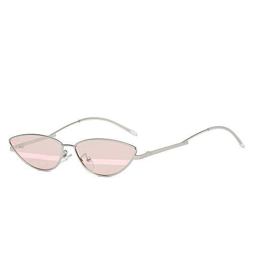 Gafas de sol de mujer Para mujer pequeño marco de metal ojo...
