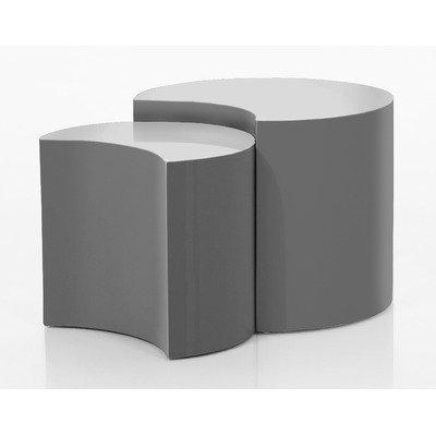 ABC Home salontafel, Scandinavische stijl, grijs