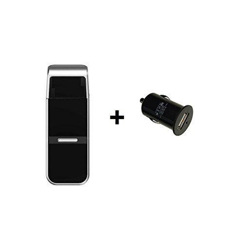 GT-730FL USB Stick GPS Receiver/DATENLOGGER, Set mit 12V KFZ-Adapter, SiRF IV Chipsatz und CanWay Software, 256.000 Wegpunkte