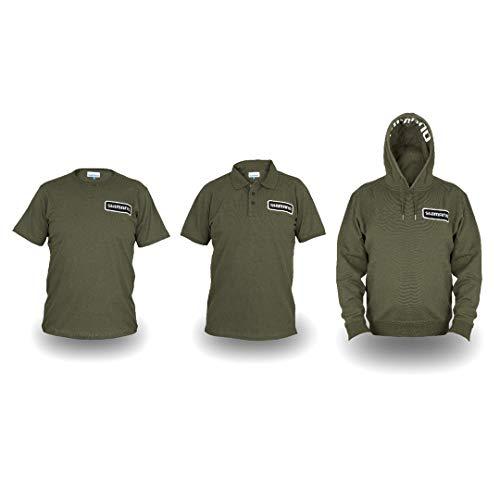 SHIMANO Clothing Pack Bundle Gr. XL Olive Hoody + Polo Shirt + T-Shirt