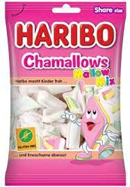 Haribo Chamallows Mallow Mix - party feste candy - confezioni da 175gr (6 confezioni)