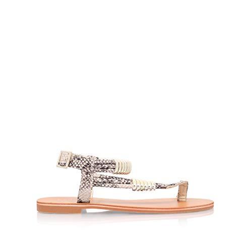 Carvela Klipper, Sandales Bout ouvert femme - beige - Beige (Beige Comb), 4 UK (37 EU)