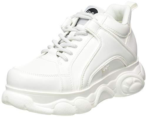 BUFFALO Cld Corin, Zapatillas Mujer, White, 39 EU