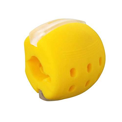 colinsa Kiefer-Trainingshals, Gesichtston-Kieferlinien-Übung, tragbarer Kiefer-Trainings-Gesichtsstraffungsball, helfen, Stress abzubauen
