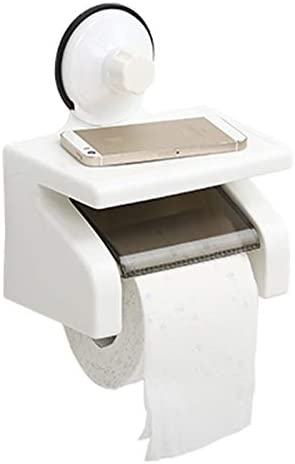 AMTR Suction Cup Waterproof online shop Paper roll 67% OFF of fixed price Tube Toilet Holder