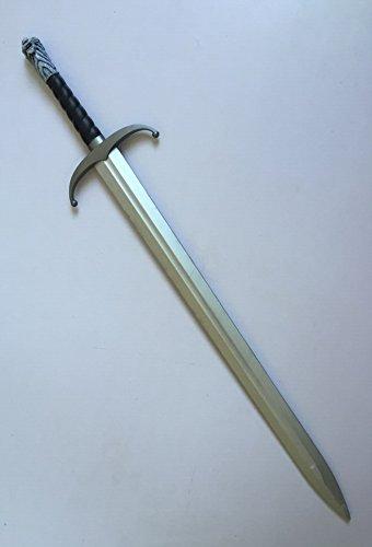 Game of Thrones Jon Snow Direwolf Schwert aus Schaumstoff Originalgröße Cosplay Ritter