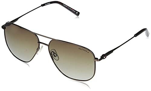 Tommy Hilfiger Gradient Square Men's Sunglasses - (TH 867 C5 S|59|Brown Color Lens)