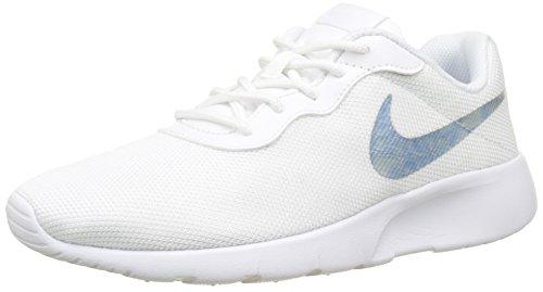 Nike Tanjun (GS), Zapatillas de Gimnasia Niñas, Rosa (White/Royal Tint/White 101), 39 EU