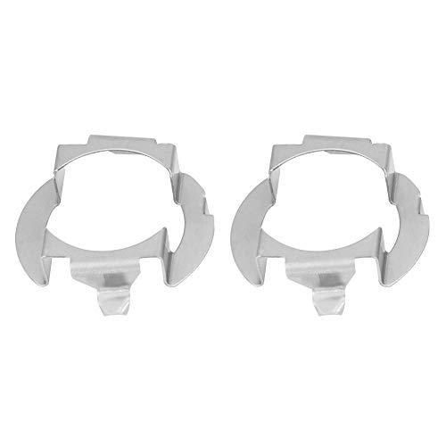 H7 LED Adapter, 1 Paar H7 LED Scheinwerferlampe Halter Adapter H7 LED Scheinwerfer Lampe Birne Halter Kfz Scheinwerfer Lampenhalter Adapter halter für B Klasse