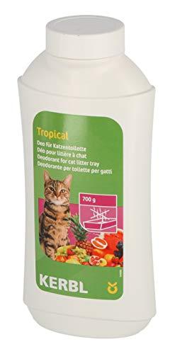Kerbl 82674 Deo-Konzentrat für Katzentoilette, Tropical, 700g