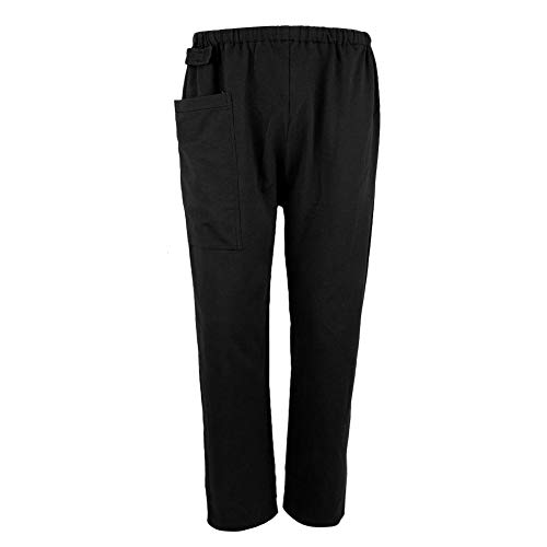 Incontinence Pants , Incontinence Care Trousers Convenient for Incontinent People to Go to The Toilet to Prevent Embarrassed Scene (L- Black)