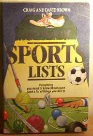 Download The Book of Sports Lists: No. 1 0722119356