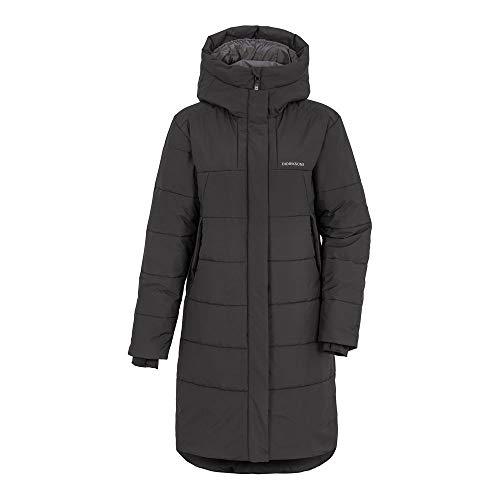 Didriksons W Tindra Puff Parka Schwarz, Damen Isolationsjacke, Größe 48 - Farbe Black