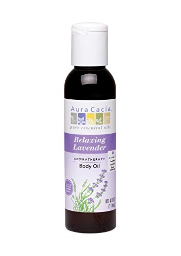 Aura Cacia Body Oil Relaxing Lavendr 4 Fz