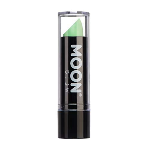 Moon Glow – Rouge à lèvres fluo UV 4.5 Pastel Vert. qui produisent un effet fluo incroyable sous la lumière ultraviolette ou noire !