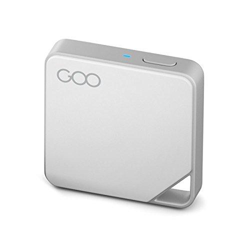 Goo Air Disk 64 GB • Mini Disque Flash WiFi • Sauvegardez Optimisez Transférez Vos Données Photos et Vidéos • Partagez Vos fichiers avec 7 Personnes Simultanément • Nombreux formats supportés • Blanc