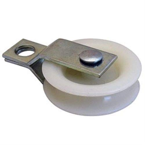 Purchase 100 1-3/4 Nylon Pulleys with Split Bracket for Sports Netting Batting Cages