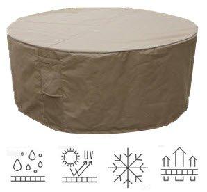 Étanche Meubles de Jardin Patio Housse table ronde protection S75