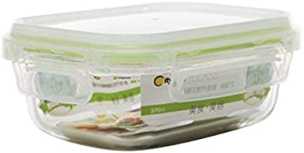 Citylife H-8486 Glass Fresh Container, 207x156x71mm, 1.04 L, Clear , Colors may vary