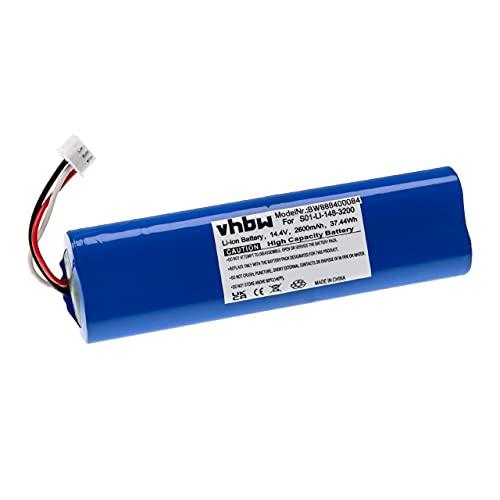 vhbw Batería recargable compatible con Ecovacs Deebot Ozmo 930 aspiradora, robot limpieza (2600 mAh, 14,4 V, Li-Ion)