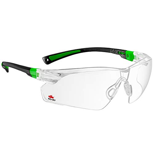 NoCry Safety Glasses with Clear Anti Fog