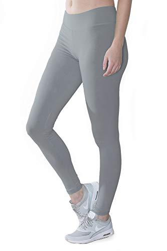 Organic Cotton Spandex Yoga Leggings, High Waist,...