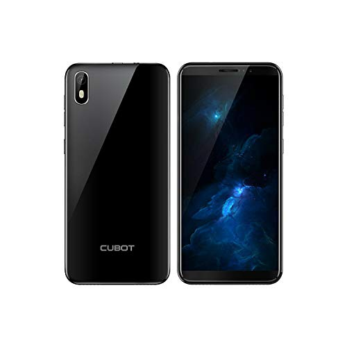 CUBOT J5 - Teléfono móvil (16 GB, Dual SIM, Android 9.0 Pie), color negro