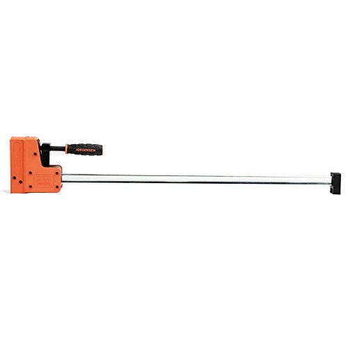 JORGENSEN 8030 Cabinet Master 30 Inch 90 Degree Parallel Steel Bar Clamp