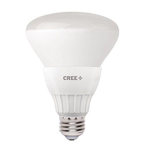 Cree 65W Equivalent Soft White (2700K) BR30 Dimmable 9W LED Flood Light Bulb (Single Pack)